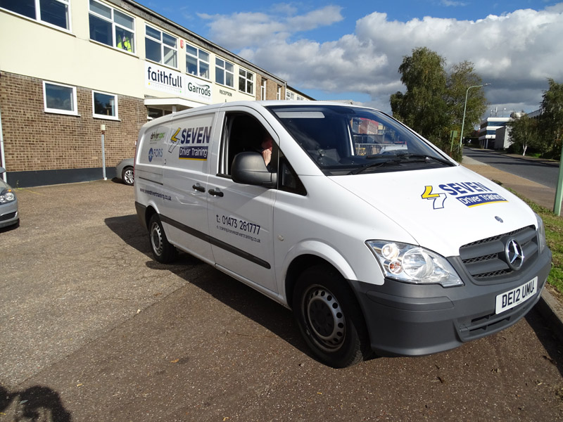 driver training course van